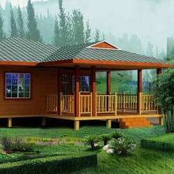 AVANA - Maison en bois avec ossature acier de type F3 de 97.21m²