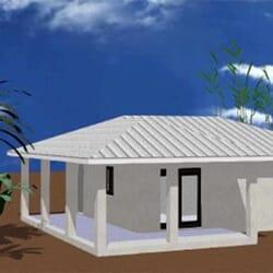 CORIA – Maison à ossature métallique de type F3 de 95 m²