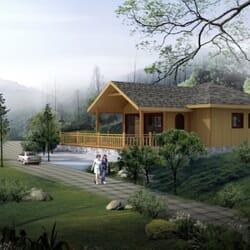PERLA - Maison en bois avec ossature acier de type F3 de 107 m²
