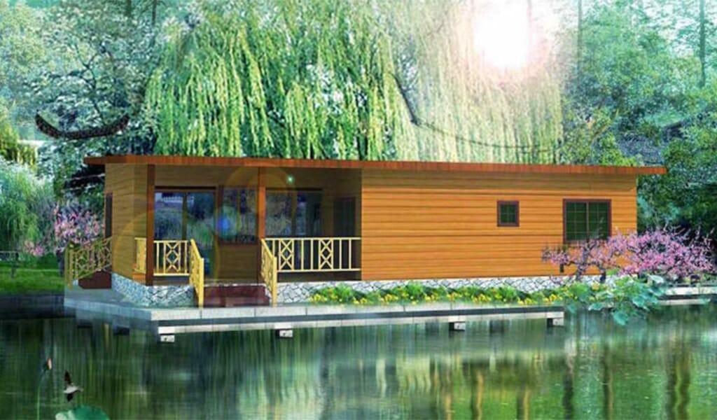 VICTORIA - Maison en bois avec ossature acier de type F4 de 103 m²