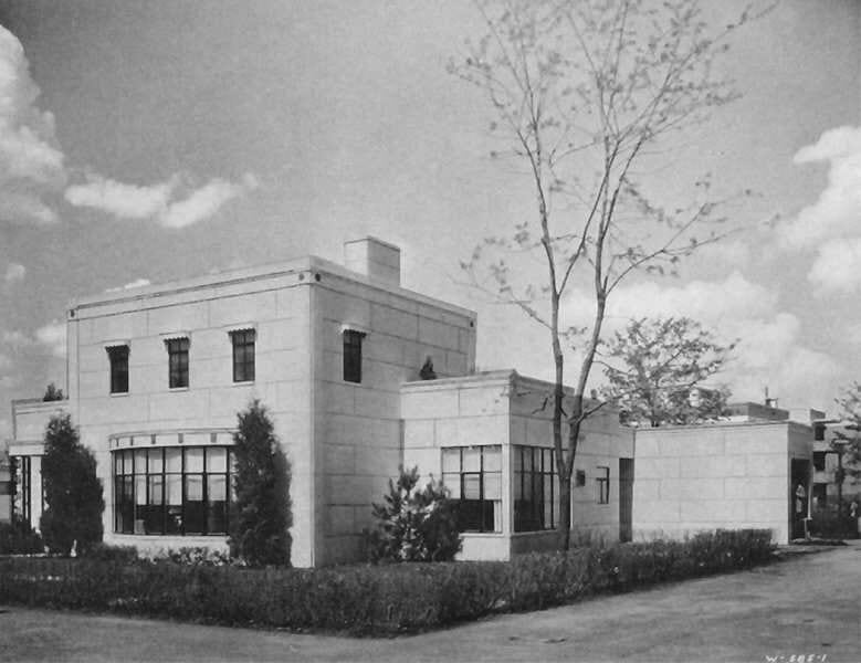 Maison à ossature métallique de 1933 (Stran-Steel House)